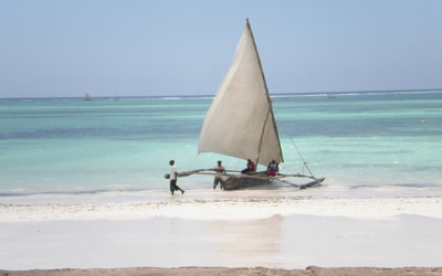 Zanzibar - Imbarcazione Dhow